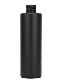 8 oz Black Matte Cylinder